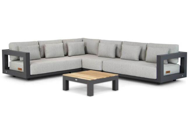 4 Seasons Outdoor Metropolitan/Ravalla 76 cm hoek loungeset 4-delig