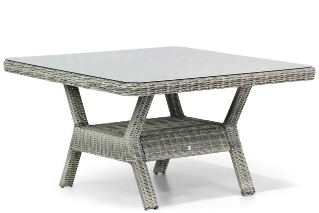Garden Collections Napoli lounge/dining tuintafel 123 x 123 cm