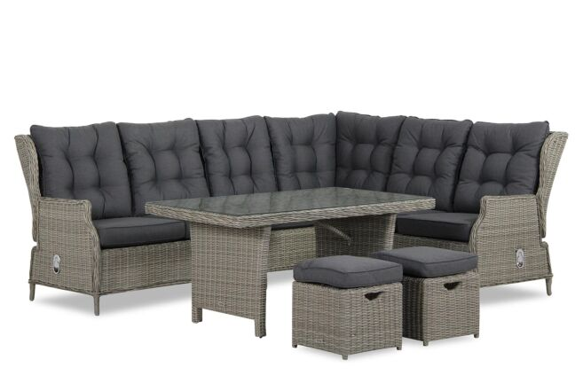 Garden Collections New Castle dining loungeset 7 delig
