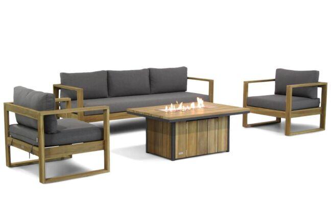 Lifestyle Marriott/Seaside stoel-bank loungeset 4-delig