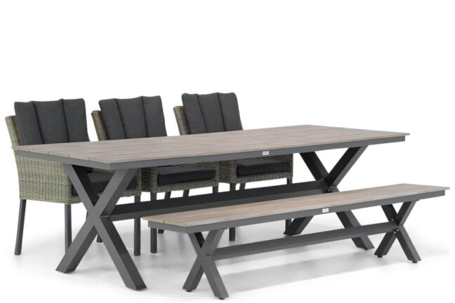 Garden Collections Oxbow/Forest 240 cm picknick tuinset 5-delig