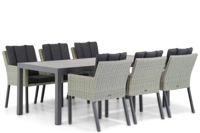 Garden Collections Oxbow/Residence 220 cm dining tuinset 7-delig