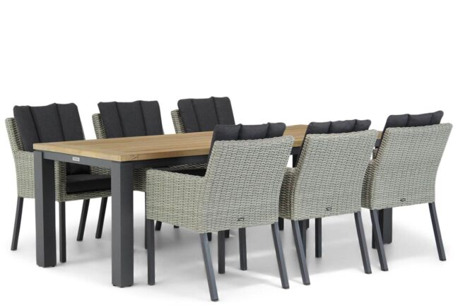 Garden Collections Oxbow/Veneto 230 cm dining tuinset 7-delig