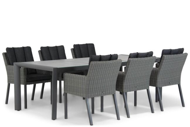 Garden Collections Oxbow/Lido 240 cm dining tuinset 7-delig