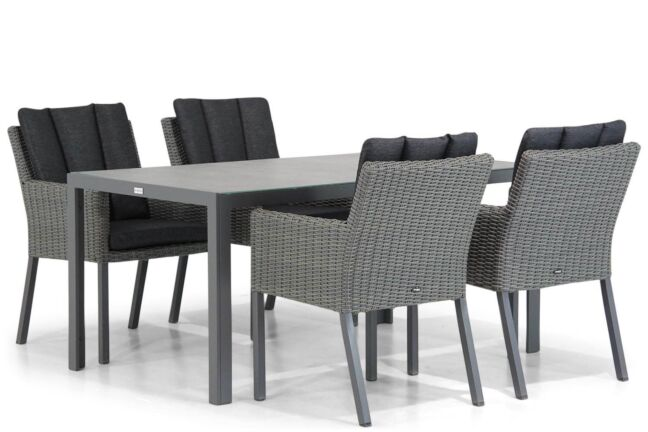 Garden Collections Oxbow/Varano 160 cm dining tuinset 5-delig