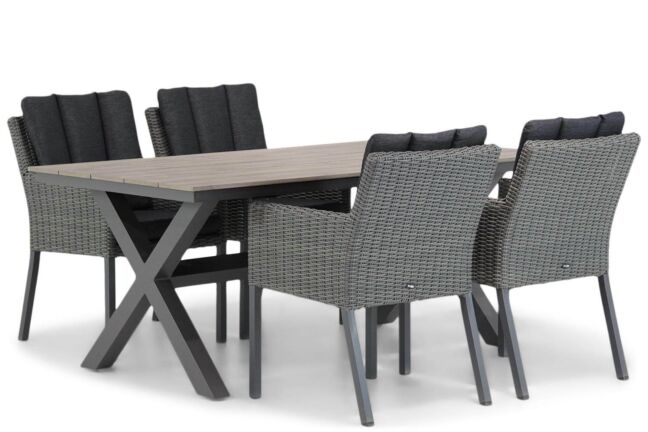 Garden Collections Oxbow/Forest 180 cm dining tuinset 5-delig