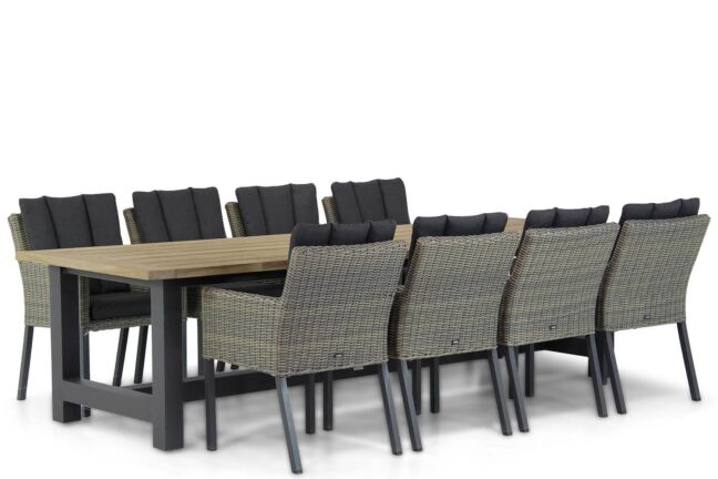 Garden Collections Oxbow/San Francisco 300 cm dining tuinset 9-delig