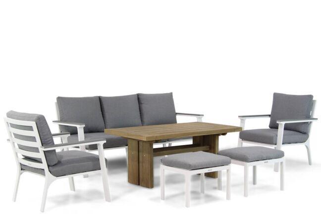 Lifestyle Palazzo/Brighton 140 cm stoel-bank loungeset 6-delig