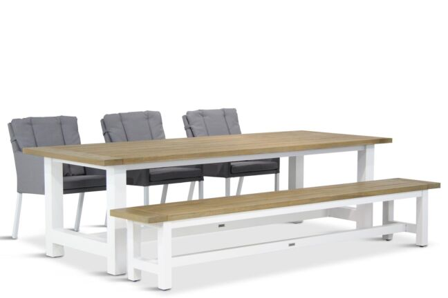 Lifestyle Parma/Los Angeles 260 cm dining tuinset 5-delig