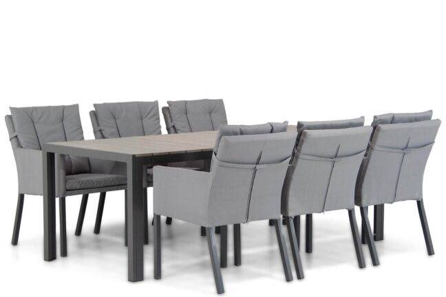 Lifestyle Parma/Young 217 cm dining tuinset 7-delig