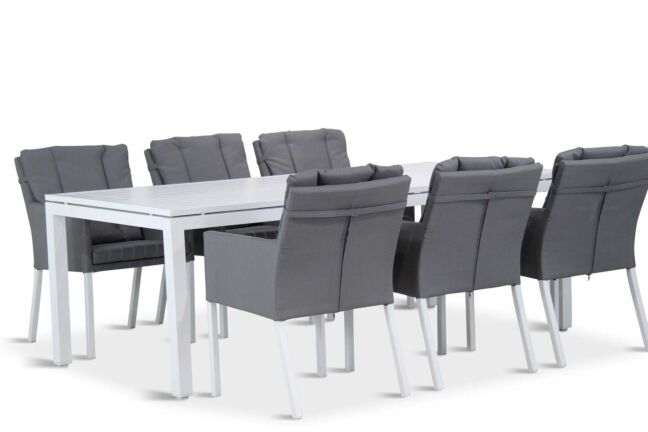 Lifestyle Parma/Concept 220 cm dining tuinset 7-delig