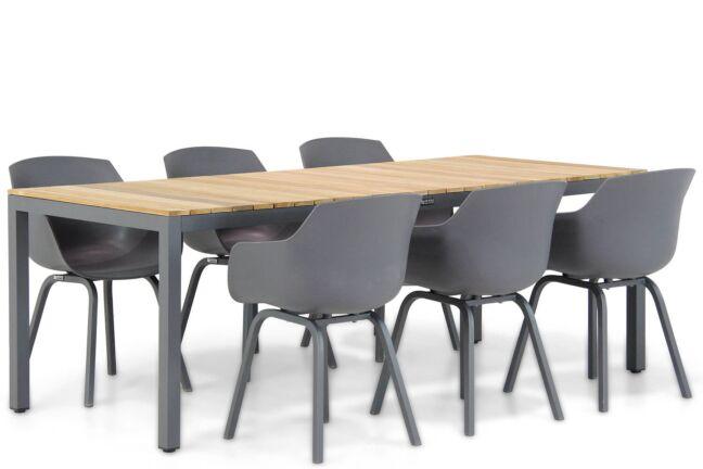 Lifestyle Salina/Mazzarino 220 cm dining tuinset 7-delig