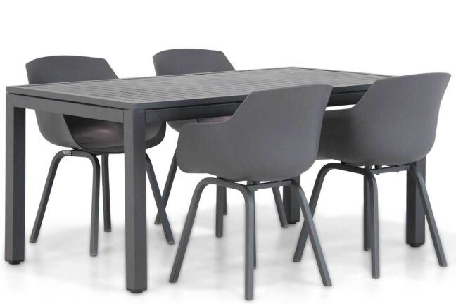 Lifestyle Salina/Concept 160 cm dining tuinset 5-delig