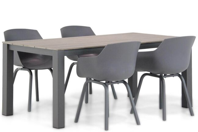 Lifestyle Salina/Valley 180 cm dining tuinset 5-delig