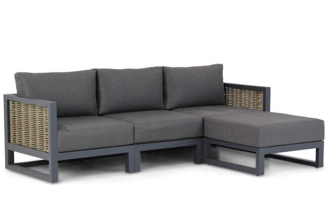 Santika Salviano chaise longue loungeset 4-delig