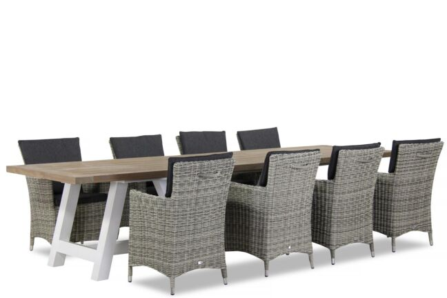 Garden Collections Springfield/Florence 330 cm dining tuinset 9-delig