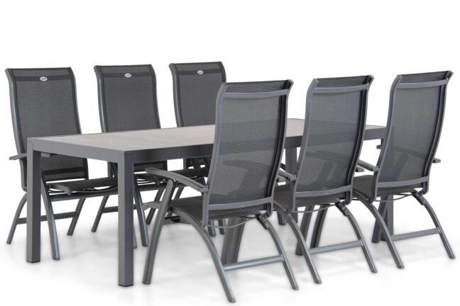 Hartman Summerland/Residence 220 cm dining tuinset 7-delig