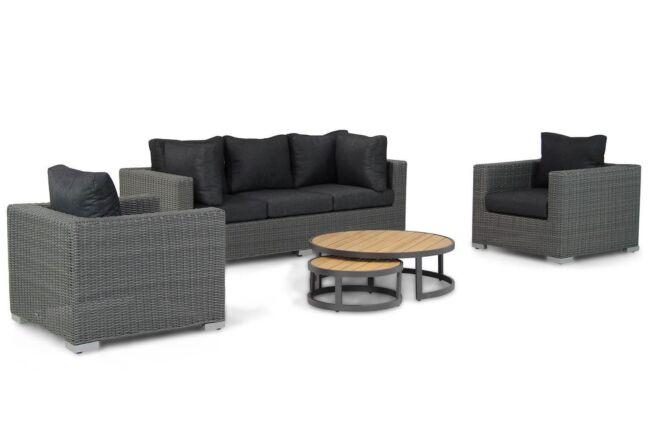 Garden Collections Toronto/Westfield stoel-bank loungeset 4-delig