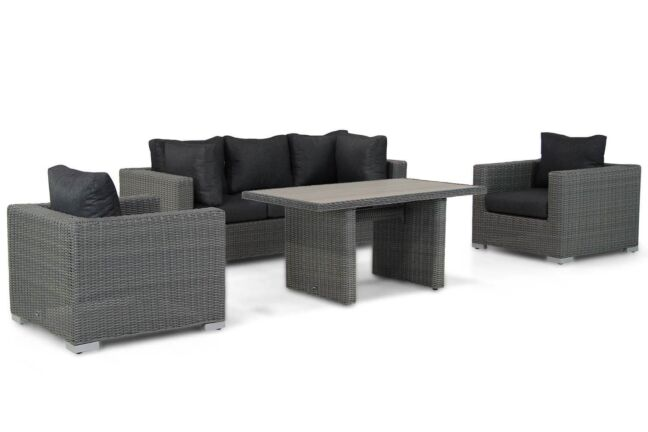 Garden Collections Toronto stoel-bank loungeset 4-delig