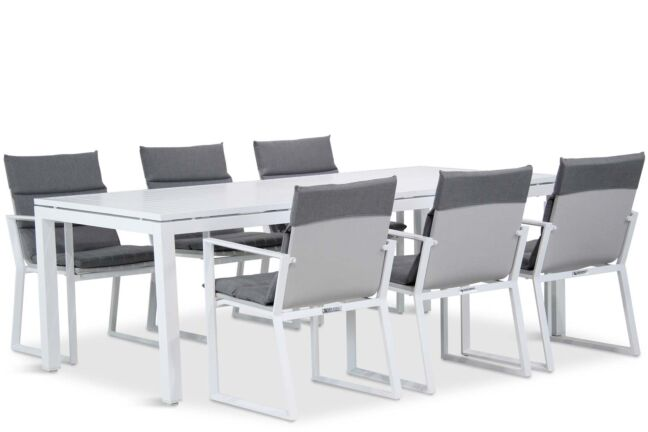 Lifestyle Treviso/Concept 220 cm dining tuinset 7-delig
