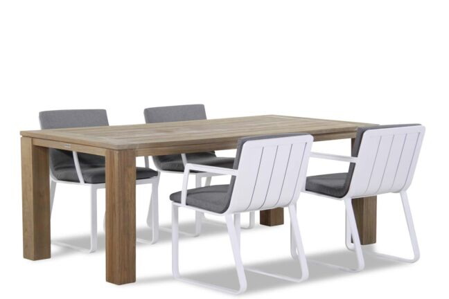 Lifestyle Estancia/Brighton 200 cm dining tuinset 5-delig