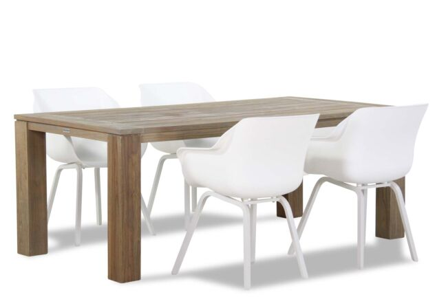Hartman Sophie element/Brighton 200 cm dining tuinset 5-delig