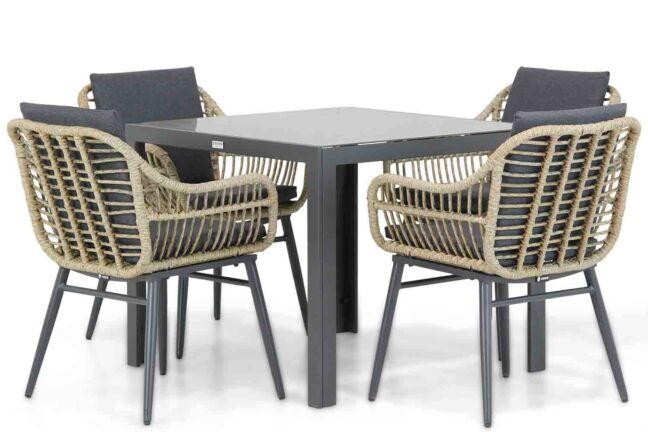 Coco Leonardo/Mondello 90 cm dining tuinset 5-delig