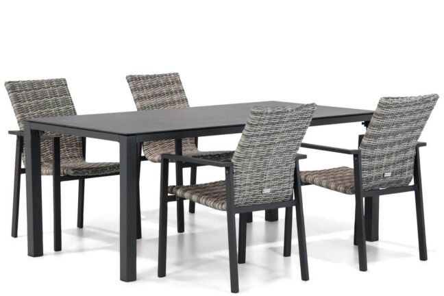 Lifestyle Upton/Pallazo 180 cm dining tuinset 5-delig