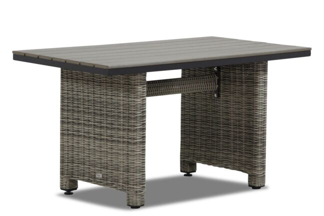 Garden Collections Lusso lounge/dining tuintafel 130 x 70 cm