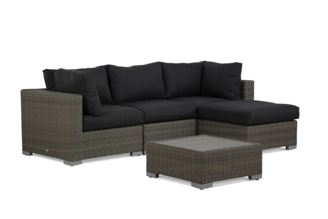 Garden Collections Toronto chaise longue loungeset 5-delig