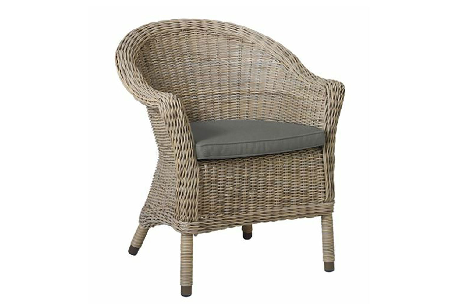 4 Seasons Outdoor Chester dining chair with cushion