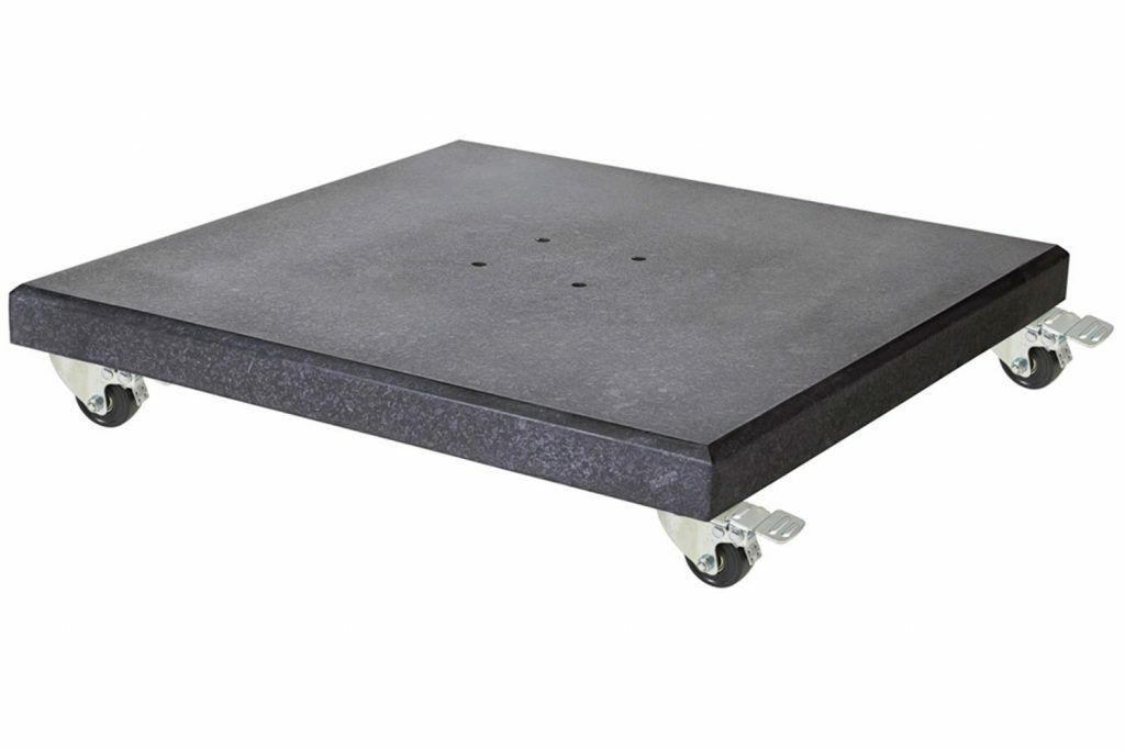 Platinum Modena parasolvoet 120 kg verrijdbaar