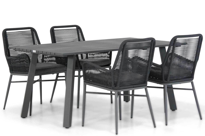Coco Adali/Villagio 170 cm dining tuinset 5-delig