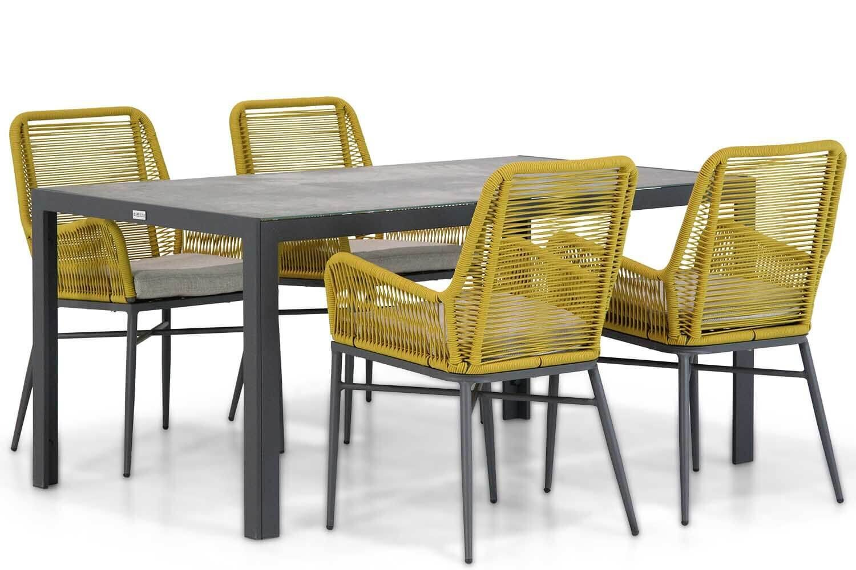 Coco Adali/Varano 160 cm dining tuinset 5-delig