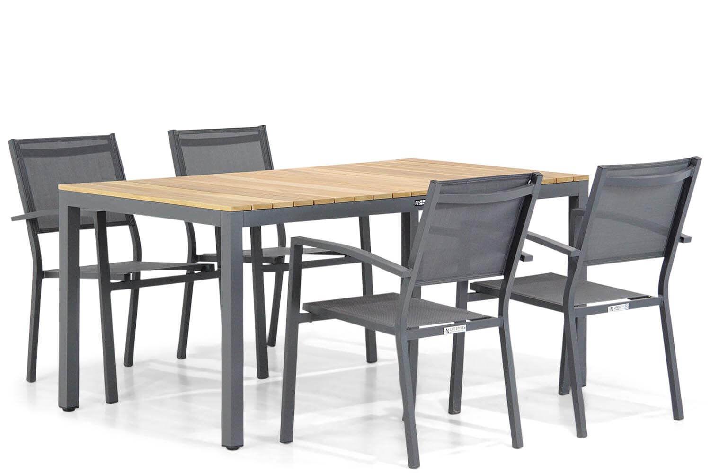 Lifestyle Amarilla/Mazzarino 160 cm dining tuinset 5-delig