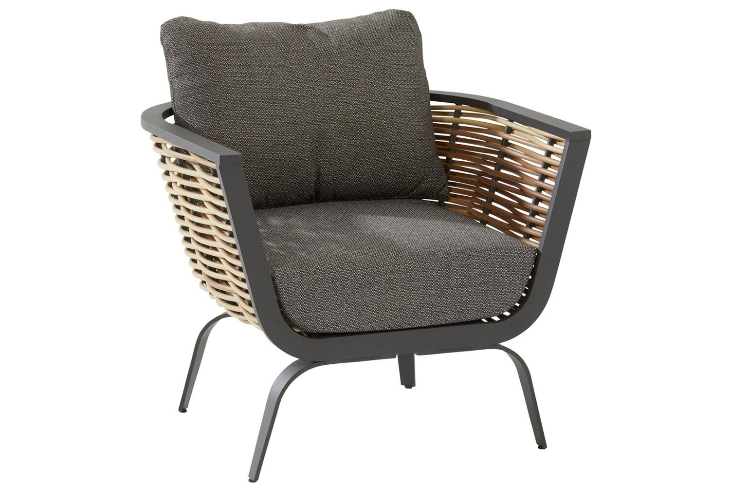 4 Seasons Outdoor Antibes living chair with 2 cushions