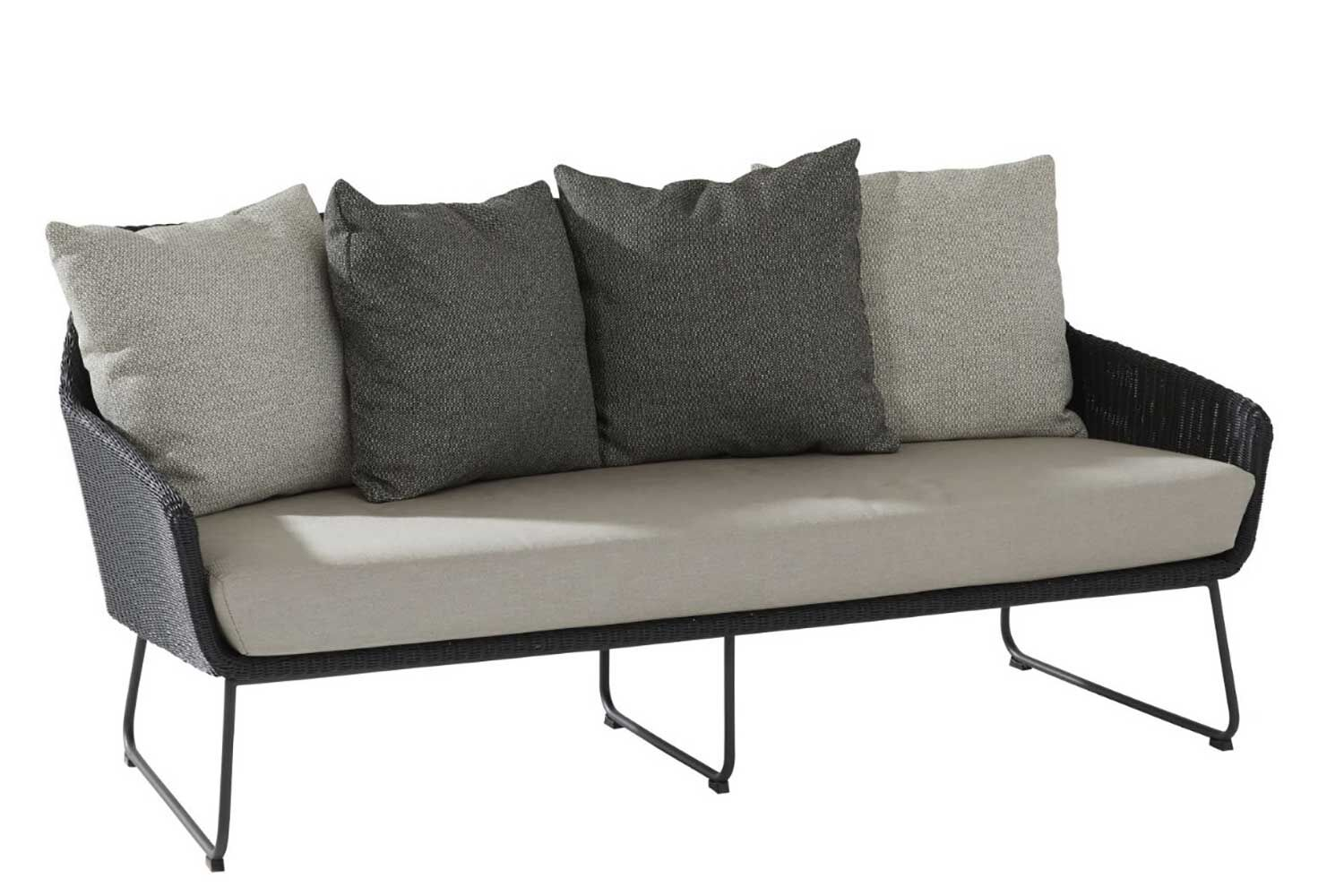 4 Seasons Outdoor Avila lounge tuinbank 2,5-zits met alu poten