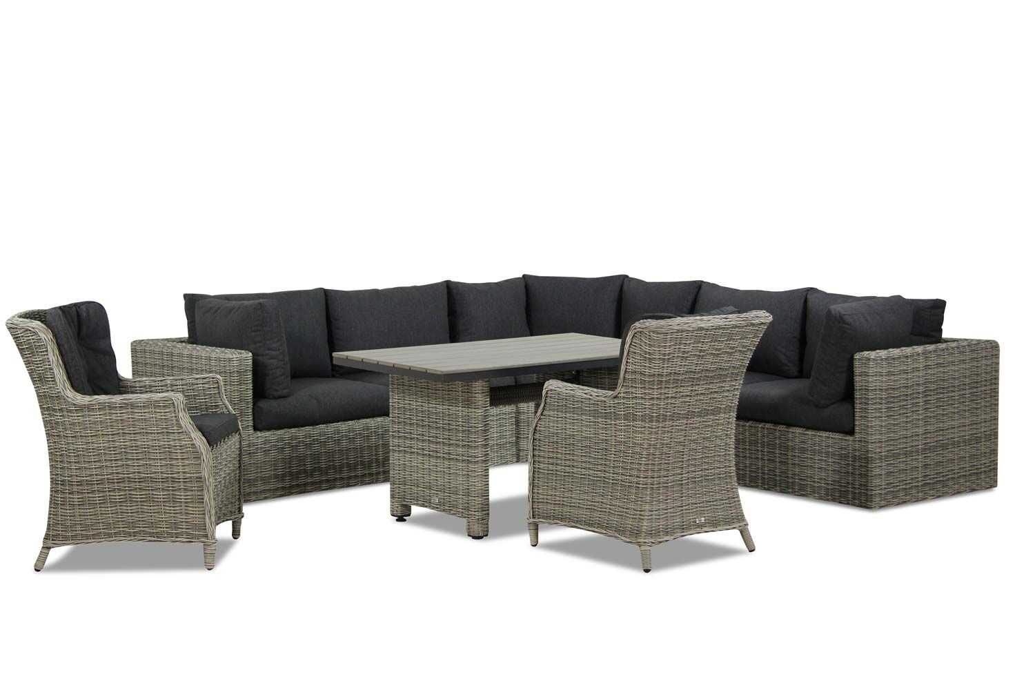 Garden Collections Comodo/Lusso dining loungeset 8-delig