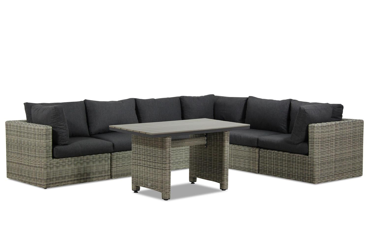 Garden Collections Comodo/Lusso dining loungeset 7-delig