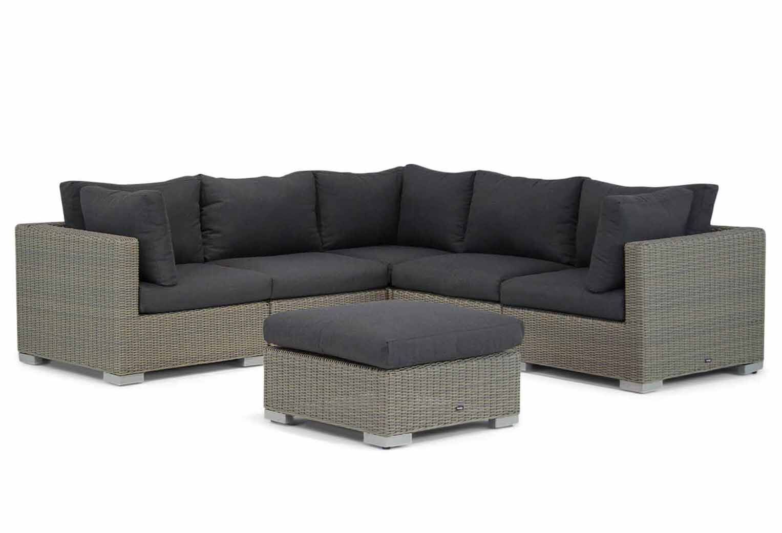 Garden Collections Cuba hoek loungeset 6-delig