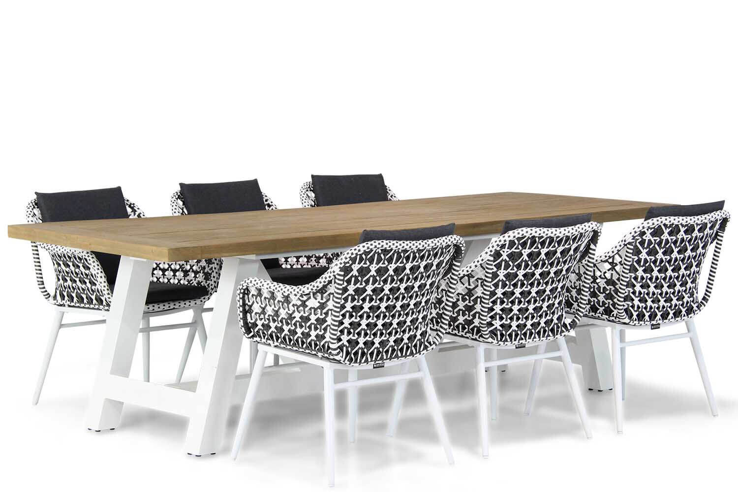 Lifestyle Dolphin/Florence 260 cm dining tuinset 7-delig