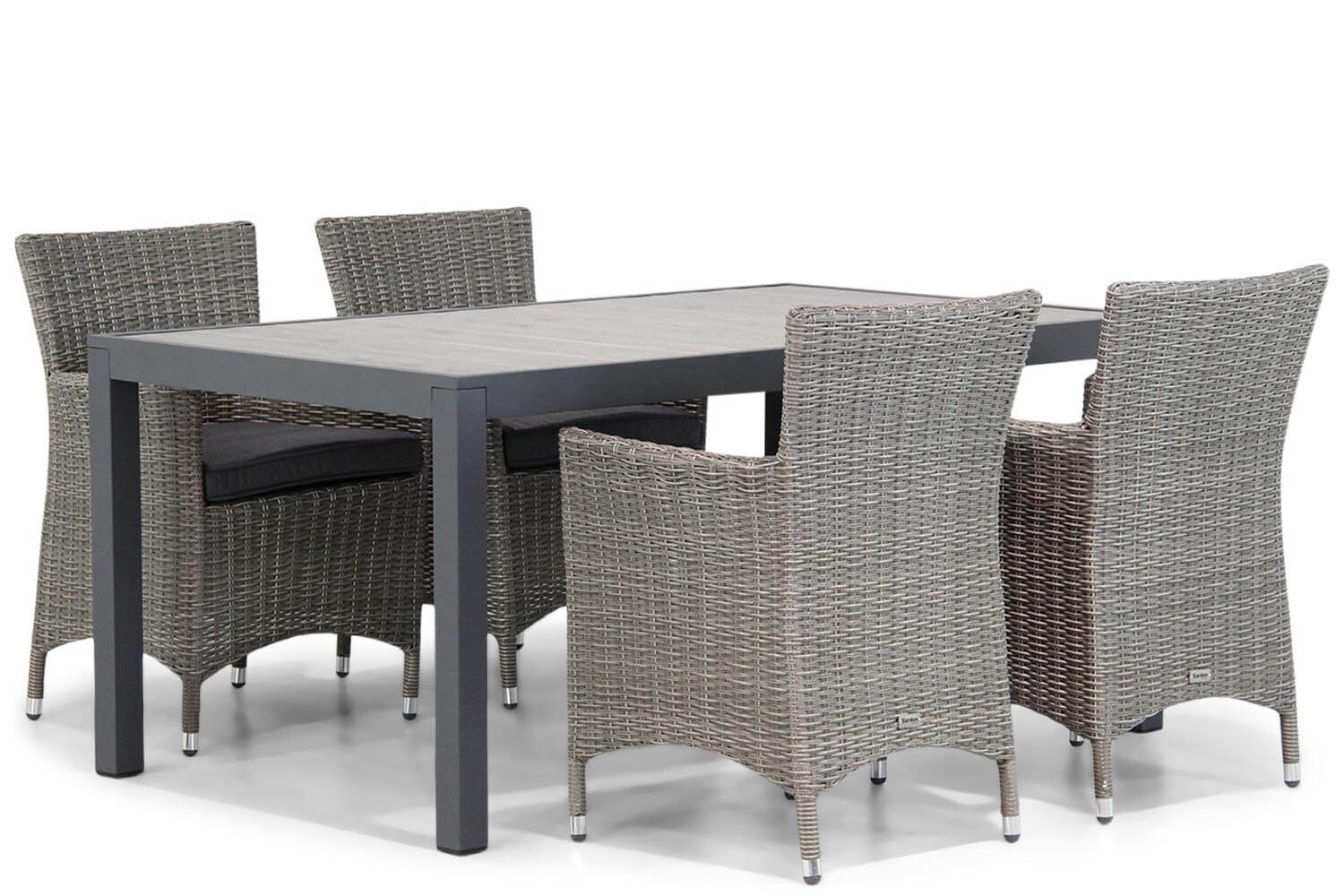 Garden Collections Dublin/Residence 164 cm dining tuinset 5-delig