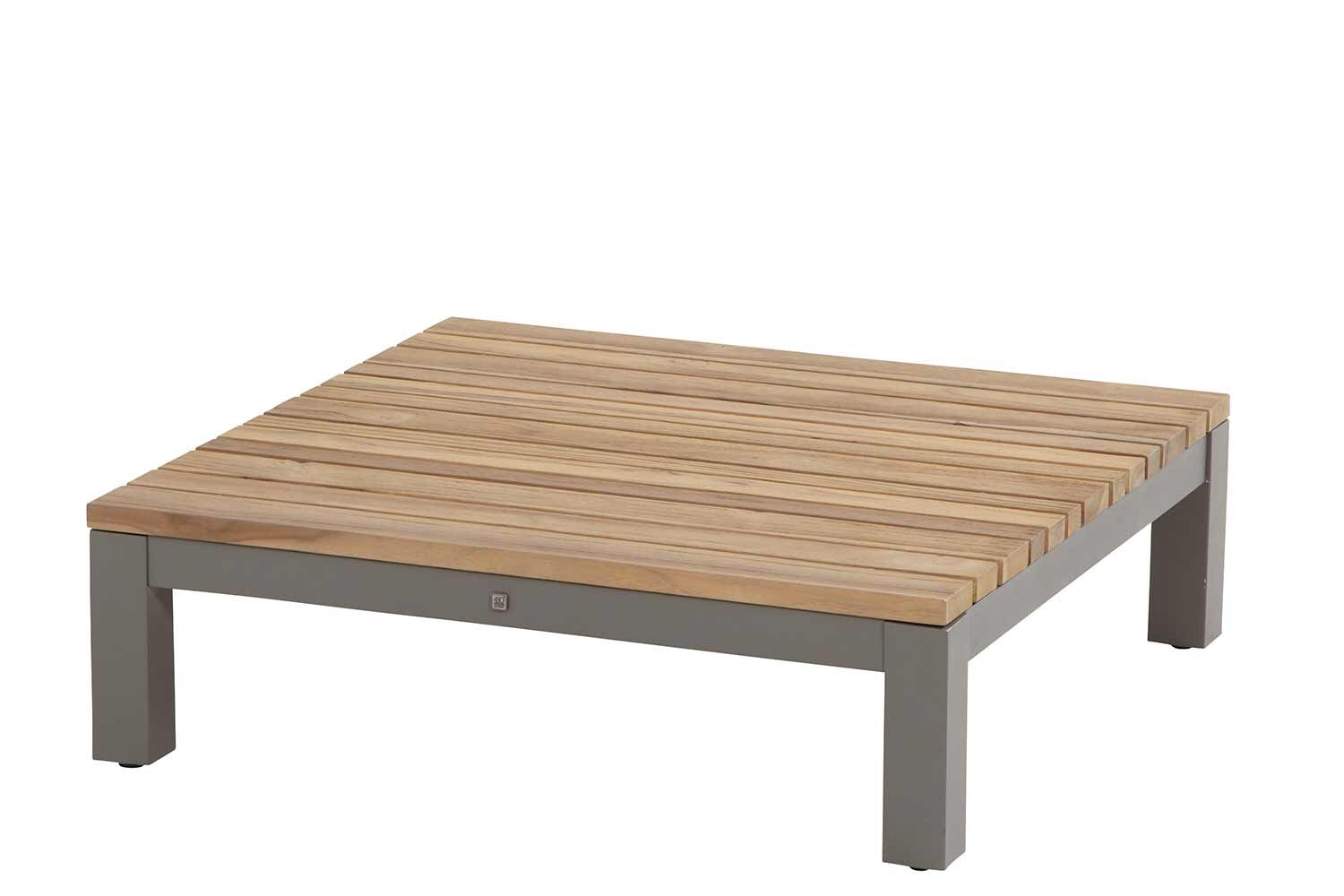 4 Seasons Outdoor Fidji hoek module / loungetafel 85 x 85 x 26 cm