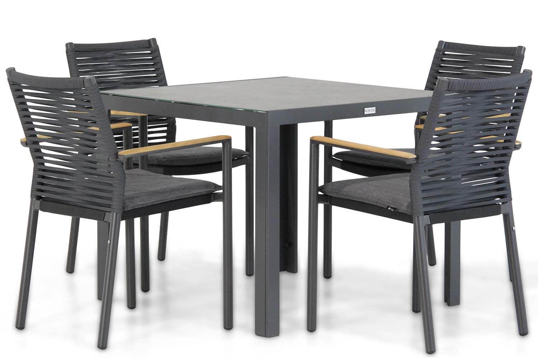 Santika Giovane/Varano 90 cm dining tuinset 5-delig
