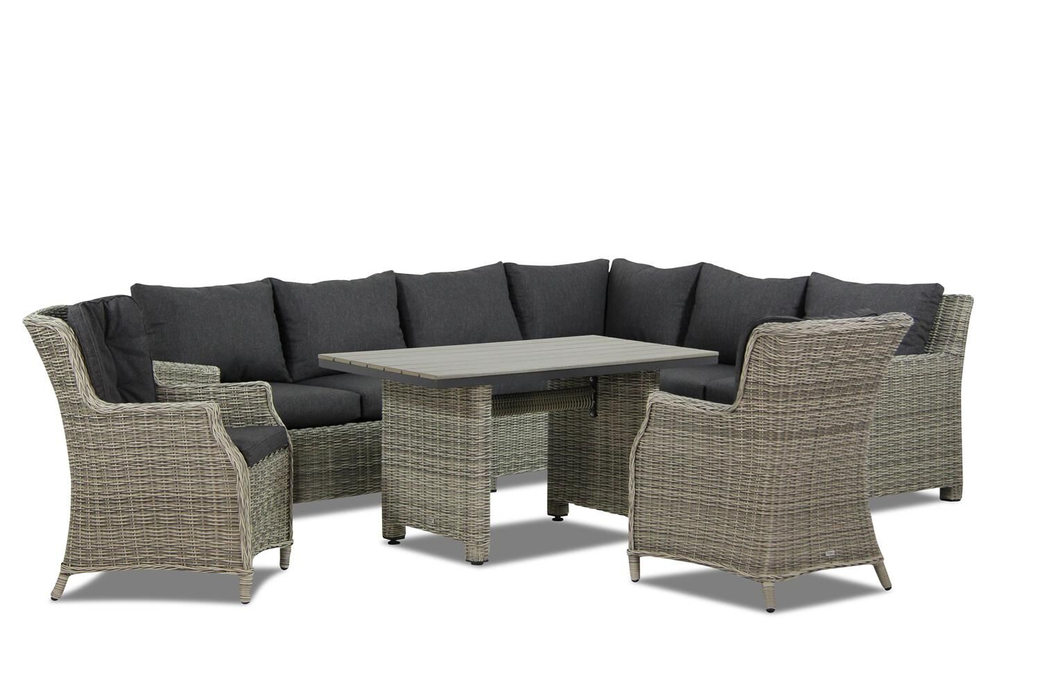 Garden Collections Lusso/Vita dining loungeset 7-delig