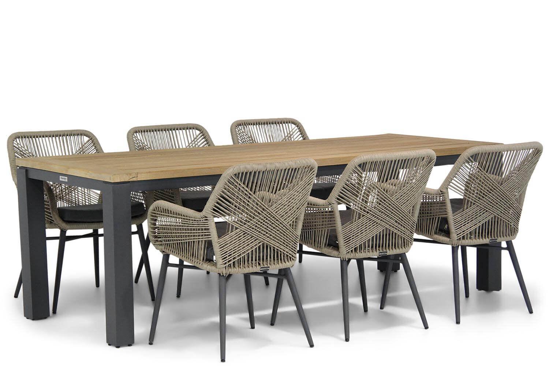 Lifestyle Advance/Veneto 230 cm dining tuinset 7-delig