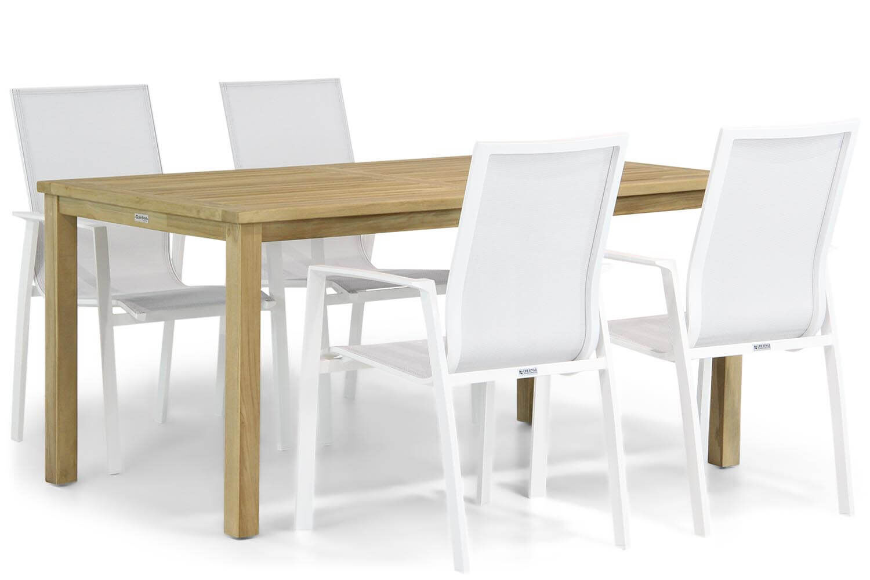 Lifestyle Ultimate/Weston 160 cm dining tuinset 5-delig