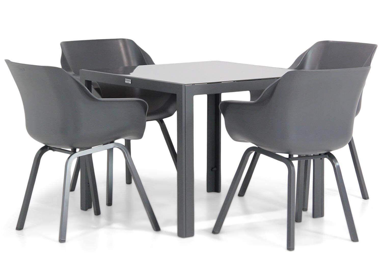 Hartman Sophie element/Mondello 90 cm dining tuinset 5-delig