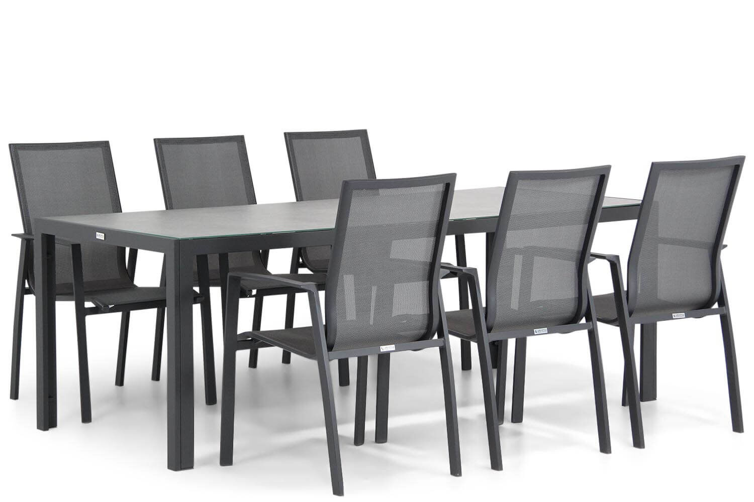 Lifestyle Ultimate/Varano 210 cm dining tuinset 7-delig