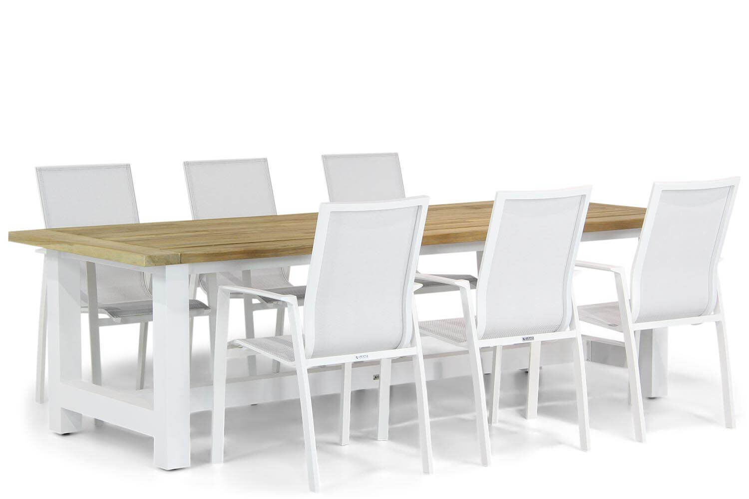 Lifestyle Ultimate/Los Angeles 260 cm dining tuinset 7-delig